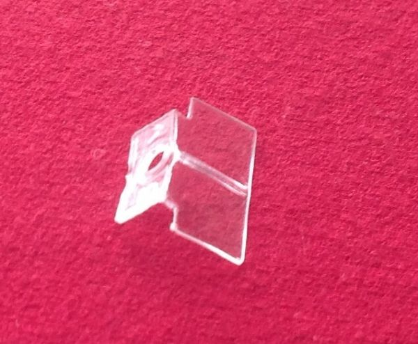 Dinky Toys 665 Honest John Clear plastic window unit